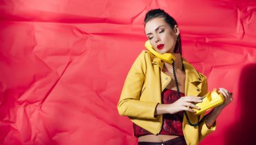 what to wear with a yellow leather jacket