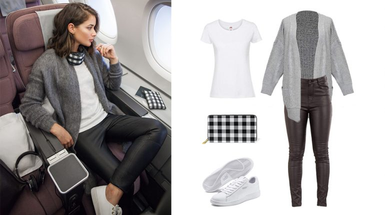 best outfit for long haul flight