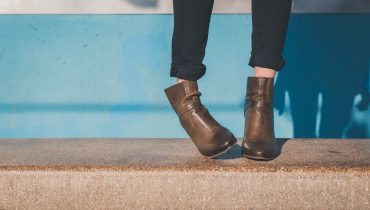 what to wear with brown ankle boots