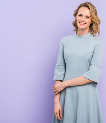 what to wear with a shift dress