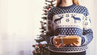 what to wear with a christmas jumper