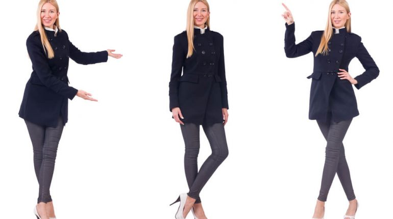 how to wear a black overcoat casually